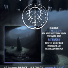 Slovenská skupina Patriacha už v marci vydáva nový album u Gothoom Production!