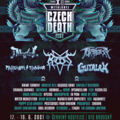 Československá verzia MetalGate Czech Death Fest 2021 otvorí svoje v júny!