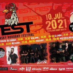 Martine sa uskutoční budúci víkend FEST! Martinský hudobný festival