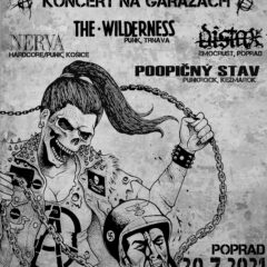 Garážové koncerty v Poprade a v Bratislave už tento piatok!