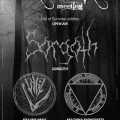 BLACK METAL meeting End of Summer edition OPEN AIR túto sobotu v Liptovskom Mikuláši