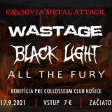 Cassovia Metal Attack alebo piatok v košickom Collosseum Clube!