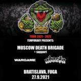 Moscow Death Brigade (RU) + Adacta, Wargame vo FUGE!