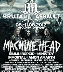 Brutal Assault oznamuje NAPALM DEATH, CROWBAR a ALCEST