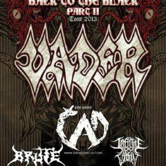 VYHODNOTENIE -Súťaž o 1x voľný vstup na Back To The Black Tour II – VADER + support 30.4.2013 (Collosseum club, KE)