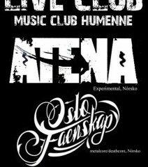 Koncert – ATENA – 5. august 2014, Humenné, Live Club